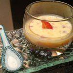 Crème à la mangue Fraîche