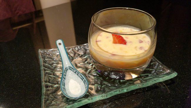 La crème de mangue à la recette secrète