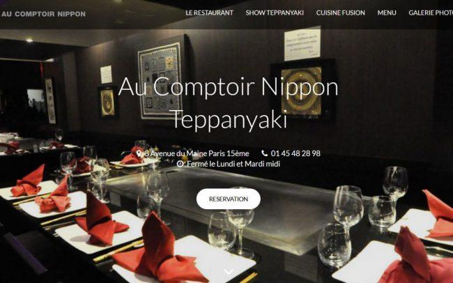 Nouveau site internet du Comptoir Nippon